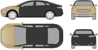 Deluxe <span>Full hood, full wings, mirrors, front bumper, headlights</span> <span>Starting at 1 000$</span>